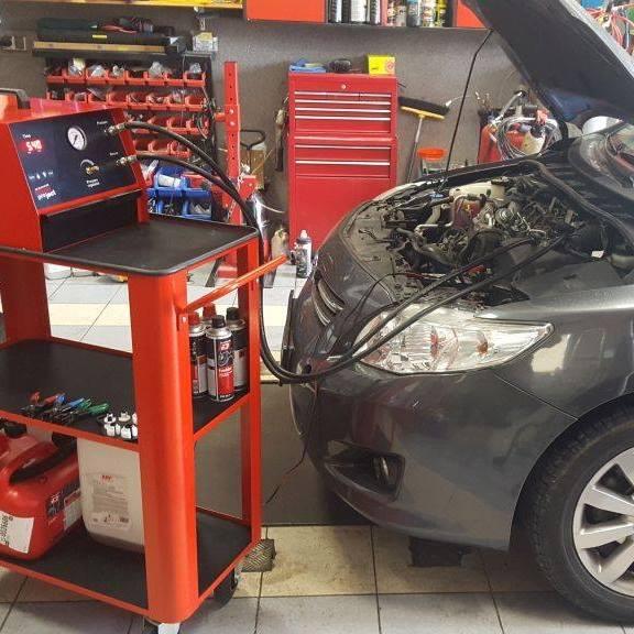 samochód i datacol